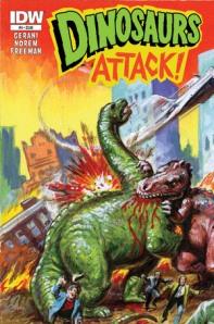 Dinosaurs Attack #4